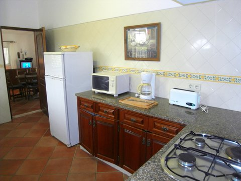 Villa Ingrina Mar kitchen